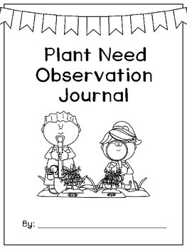 Plant Observation Experiment and Journal