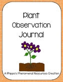 Plant Observation Journal
