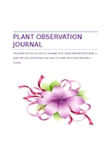 Plant Observation Journal and More