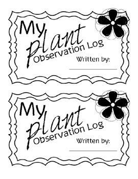 Plant Observation Log