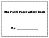 Plant Observation Log Book