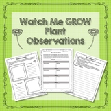 Plant Observations and Comparisons