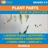 Biology Unit: Plant Parts and Structures for Big Kids (Grades 3, 4, and 5)