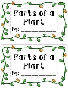 Plant Parts Book