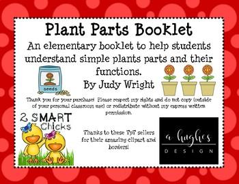 Plant Parts Booklet