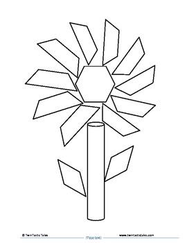Plant Parts & Geometrical Shapes