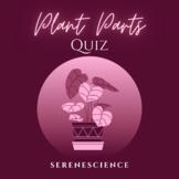 Plant Parts Quiz