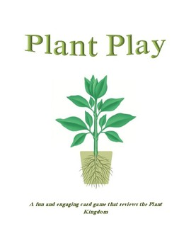 Plant Play: A review game for the plant kingdom