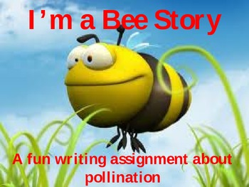 Plant Pollination with Writing Activity