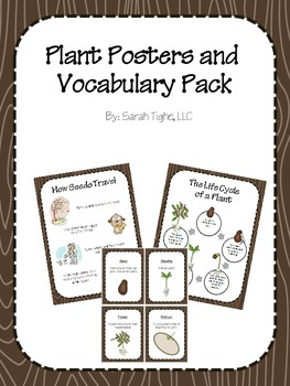 Plant Posters and Vocabulary Pack
