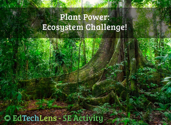 Plant Power: Ecosystem Challenge! - 5E Classroom Science Activity PDF