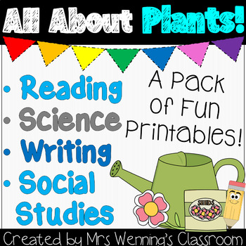 Plant Printables (Includes Science Notebook!)