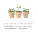 Plant Products Sort