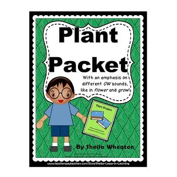 Plant Packet:  Literacy, Math, and More!