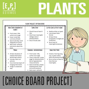 Plant Project Choice Board