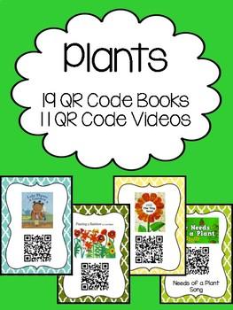 Plant QR Code Books