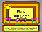 Plant Quiz Game - Power Point