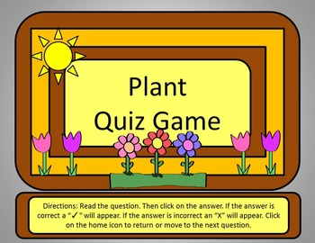 plant quiz game power point by anna navarre teachers pay teachers