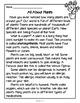 Plant Reading Passages {PLUS Comprehension Questions!}