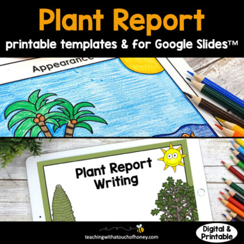 Plants: Tiered Report Writing Templates