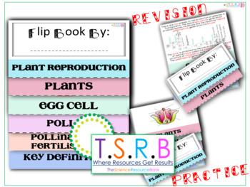 Plant Reproduction Flip Book (Edexcel Biology B Matched)