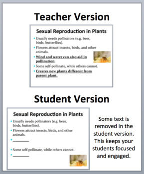 Plant Reproduction - A Grade 11 and Up Biology PowerPoint Lesson