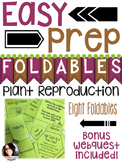 Plant Reproduction Pack (FOLDABLES, NOTEBOOK IDEAS, AND WEBQUEST)