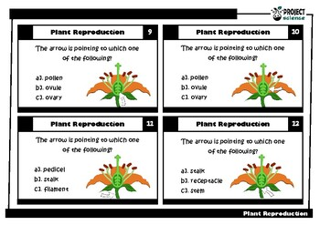 Plant Reproduction Task Cards