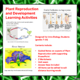 Plant Reproduction and Development Lesson Activities