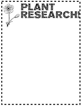 Plant Research