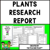 Plant Research Report