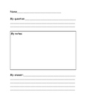 Plant Research Template