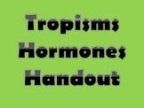 Plant Responses Tropisms and Hormones