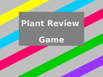 Plant Review Game