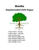 Plant Roots - Supplemental Unit Pages