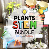 Plant STEM Activities and Plant Task Cards BUNDLE