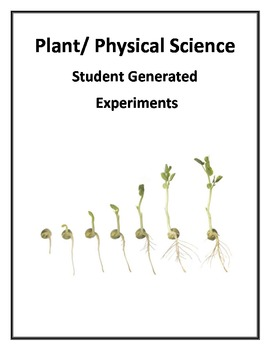 Plant Science Student Generated Experiment
