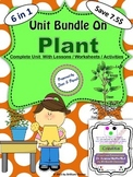 Plant Unit Bundle - Lessons / Worksheets / Activities