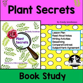 Plant Secrets by Emily Goodman Read Aloud Activities