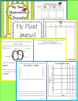 Plant & Seed Thematic Unit: Digging Deep into Science for 1st-3rd Workshop model