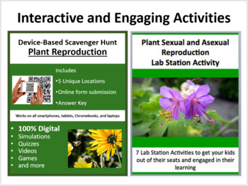 Asexual plant reproduction lesson plans