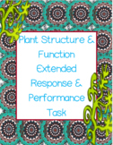Plant Structure & Function Extended Response & Performance Task