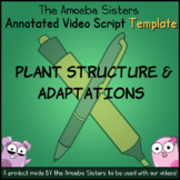 Plant Structure and Adaptations Annotated Video Script TEM