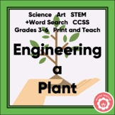 Plant Study: Engineering A Plant STEM 3-6