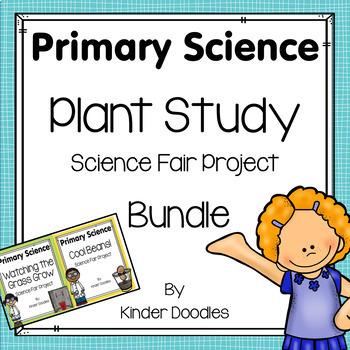 Plant Study Science Fair Project Bundle