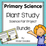 Plant Study Science Fair Project Bundle