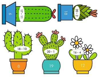 Plant Subtraction Puzzle