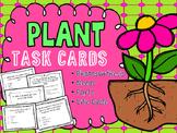 Plant Task Card: Parts, Needs, Life Cycle *Bonus Matching Game*