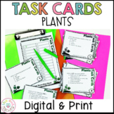 Plant Part Task Cards   Life Cycle of Plants Task Cards  