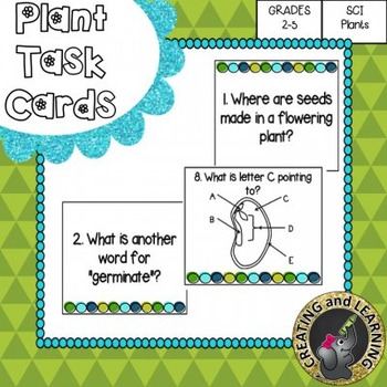 Plant Task Cards and Test
